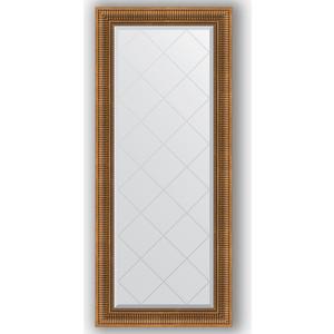 Зеркало с гравировкой поворотное Evoform Exclusive-G 67x157 см, в багетной раме - бронзовый акведук 93 мм (BY 4154)