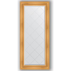 Зеркало с гравировкой поворотное Evoform Exclusive-G 69x158 см, в багетной раме - травленое золото 99 мм (BY 4159)
