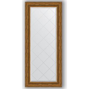 Зеркало с гравировкой поворотное Evoform Exclusive-G 69x158 см, в багетной раме - травленая бронза 99 мм (BY 4161) зеркало с гравировкой поворотное evoform exclusive g 69x91 см в багетной раме травленая бронза 99 мм by 4118