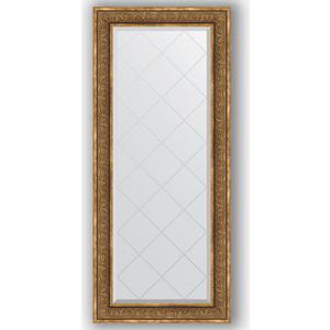 Зеркало с гравировкой поворотное Evoform Exclusive-G 69x159 см, в багетной раме - вензель бронзовый 101 мм (BY 4163) цена и фото