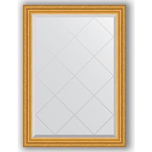 Зеркало с гравировкой поворотное Evoform Exclusive-G 72x100 см, в багетной раме - состаренное золото 67 мм (BY 4173)