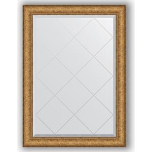 Зеркало с гравировкой поворотное Evoform Exclusive-G 74x101 см, в багетной раме - медный эльдорадо 73 мм (BY 4180)