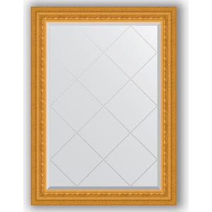 Зеркало с гравировкой поворотное Evoform Exclusive-G 75x102 см, в багетной раме - сусальное золото 80 мм (BY 4181)