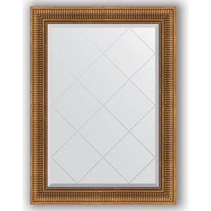 Зеркало с гравировкой поворотное Evoform Exclusive-G 77x105 см, в багетной раме - бронзовый акведук 93 мм (BY 4197)