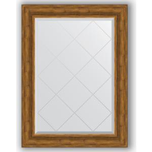 Зеркало с гравировкой поворотное Evoform Exclusive-G 79x106 см, в багетной раме - травленая бронза 99 мм (BY 4204) зеркало с гравировкой поворотное evoform exclusive g 69x91 см в багетной раме травленая бронза 99 мм by 4118