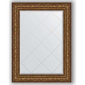 Зеркало с гравировкой поворотное Evoform Exclusive-G 80x108 см, в багетной раме - виньетка состаренная бронза 109 мм (BY 4212) зеркало в багетной раме поворотное evoform definite 54x104 см виньетка состаренная бронза 56 мм by 3073