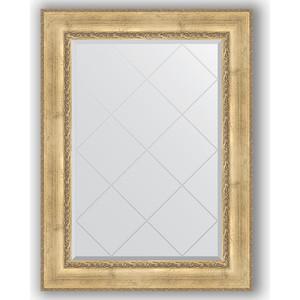 Фото - Зеркало с гравировкой поворотное Evoform Exclusive-G 82x110 см, в багетной раме - состаренное серебро с орнаментом 120 мм (BY 4213) зеркало с гравировкой поворотное evoform exclusive g 72x95 см в багетной раме состаренное дерево с орнаментом 120 мм by 4129