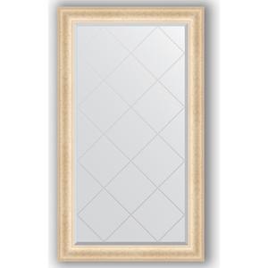 Зеркало с гравировкой поворотное Evoform Exclusive-G 75x130 см, в багетной раме - старый гипс 82 мм (BY 4226) недорго, оригинальная цена