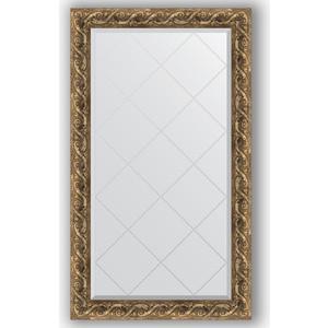 Зеркало с гравировкой поворотное Evoform Exclusive-G 76x130 см, в багетной раме - фреска 84 мм (BY 4227) цены