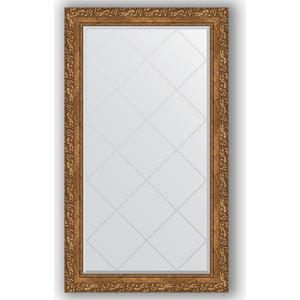 Зеркало с гравировкой поворотное Evoform Exclusive-G 75x130 см, в багетной раме - виньетка бронзовая 85 мм (BY 4228)