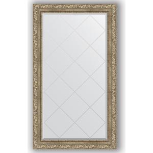 Зеркало с гравировкой поворотное Evoform Exclusive-G 75x130 см, в багетной раме - виньетка античное серебро 85 мм (BY 4229) зеркало с гравировкой поворотное evoform exclusive g 95x120 см в багетной раме виньетка античное серебро 85 мм by 4358