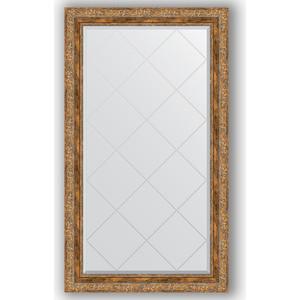 Зеркало с гравировкой поворотное Evoform Exclusive-G 75x130 см, в багетной раме - виньетка античная бронза 85 мм (BY 4230)