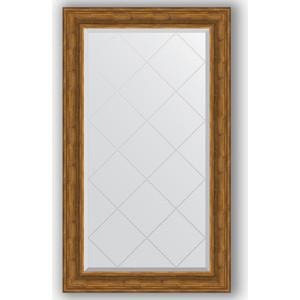 Зеркало с гравировкой поворотное Evoform Exclusive-G 79x134 см, в багетной раме - травленая бронза 99 мм (BY 4247) зеркало с гравировкой поворотное evoform exclusive g 69x91 см в багетной раме травленая бронза 99 мм by 4118