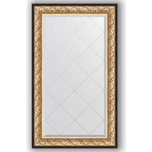 Зеркало с гравировкой поворотное Evoform Exclusive-G 80x135 см, в багетной раме - барокко золото 106 мм (BY 4251) зеркало с гравировкой поворотное evoform exclusive g 70x160 см в багетной раме барокко золото 106 мм by 4165