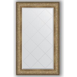 Зеркало с гравировкой поворотное Evoform Exclusive-G 80x135 см, в багетной раме - виньетка античная бронза 109 мм (BY 4253)