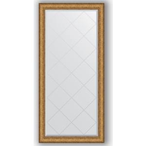 Зеркало с гравировкой поворотное Evoform Exclusive-G 74x156 см, в багетной раме - медный эльдорадо 73 мм (BY 4266) зеркало с фацетом в багетной раме поворотное evoform exclusive 74x164 см медный эльдорадо 73 мм by 1303