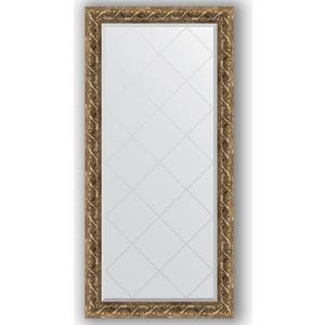 Зеркало с гравировкой поворотное Evoform Exclusive-G 76x158 см, в багетной раме - фреска 84 мм (BY 4270) фото