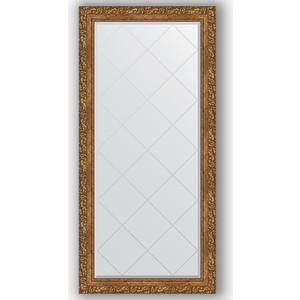Зеркало с гравировкой поворотное Evoform Exclusive-G 75x157 см, в багетной раме - виньетка бронзовая 85 мм (BY 4271)
