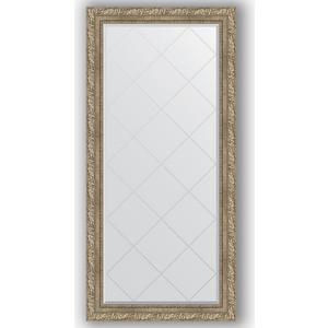 Зеркало с гравировкой поворотное Evoform Exclusive-G 75x157 см, в багетной раме - виньетка античное серебро 85 мм (BY 4272)