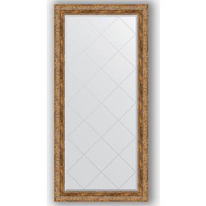 Зеркало с гравировкой поворотное Evoform Exclusive-G 75x157 см, в багетной раме - виньетка античная бронза 85 мм (BY 4273) фото