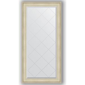 Зеркало с гравировкой поворотное Evoform Exclusive-G 78x160 см, в багетной раме - травленое серебро 95 мм (BY 4284)