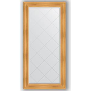 Зеркало с гравировкой поворотное Evoform Exclusive-G 79x161 см, в багетной раме - травленое золото 99 мм (BY 4288) зеркало с гравировкой поворотное evoform exclusive g 134x189 см в багетной раме травленое золото 99 мм by 4503