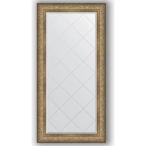 Зеркало с гравировкой поворотное Evoform Exclusive-G 80x162 см, в багетной раме - виньетка античная бронза 109 мм (BY 4296)