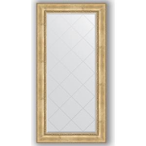 Зеркало с гравировкой поворотное Evoform Exclusive-G 82x164 см, в багетной раме - состаренное серебро с орнаментом 120 мм (BY 4299) фото
