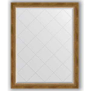 Фото - Зеркало с гравировкой поворотное Evoform Exclusive-G 93x118 см, в багетной раме - состаренная бронза с плетением 70 мм (BY 4348) зеркало с гравировкой поворотное evoform exclusive g 93x168 см в багетной раме состаренная бронза с плетением 70 мм by 4391