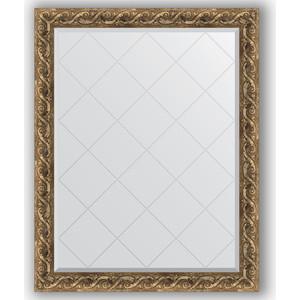 Зеркало с гравировкой поворотное Evoform Exclusive-G 96x121 см, в багетной раме - фреска 84 мм (BY 4356) зеркало с гравировкой поворотное evoform exclusive g 96x121 см в багетной раме фреска 84 мм by 4356