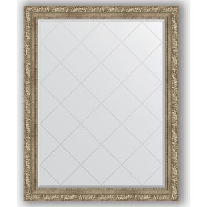 Зеркало с гравировкой поворотное Evoform Exclusive-G 95x120 см, в багетной раме - виньетка античное серебро 85 мм (BY 4358) зеркало с гравировкой поворотное evoform exclusive g 95x120 см в багетной раме виньетка античное серебро 85 мм by 4358