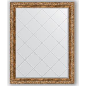 Зеркало с гравировкой поворотное Evoform Exclusive-G 95x120 см, в багетной раме - виньетка античная бронза 85 мм (BY 4359) зеркало с гравировкой поворотное evoform exclusive g 95x120 см в багетной раме виньетка античное серебро 85 мм by 4358