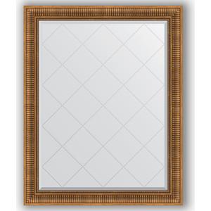 Зеркало с гравировкой поворотное Evoform Exclusive-G 97x122 см, в багетной раме - бронзовый акведук 93 мм (BY 4369)