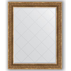 Зеркало с гравировкой поворотное Evoform Exclusive-G 99x124 см, в багетной раме - вензель бронзовый 101 мм (BY 4378) зеркало с гравировкой поворотное evoform exclusive g 69x91 см в багетной раме вензель бронзовый 101 мм by 4120