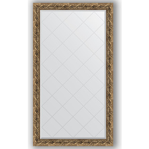Зеркало с гравировкой поворотное Evoform Exclusive-G 96x170 см, в багетной раме - фреска 84 мм (BY 4399) зеркало с гравировкой поворотное evoform exclusive g 96x121 см в багетной раме фреска 84 мм by 4356