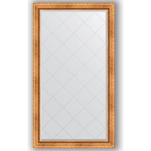 Зеркало с гравировкой поворотное Evoform Exclusive-G 96x171 см, в багетной раме - римское золото 88 мм (BY 4404) зеркало с гравировкой поворотное evoform exclusive g 56x74 см в багетной раме римское золото 88 мм by 4017
