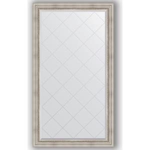 Зеркало с гравировкой поворотное Evoform Exclusive-G 96x171 см, в багетной раме - римское серебро 88 мм (BY 4405) зеркало evoform exclusive g 186х131 римское серебро