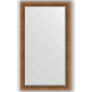 Зеркало с гравировкой поворотное Evoform Exclusive-G 97x172 см, в багетной раме - бронзовый акведук 93 мм (BY 4412)
