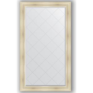 Зеркало с гравировкой поворотное Evoform Exclusive-G 99x174 см, в багетной раме - травленое серебро 99 мм (BY 4418) зеркало с гравировкой поворотное evoform exclusive g 134x189 см в багетной раме травленое золото 99 мм by 4503
