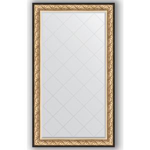 Зеркало с гравировкой поворотное Evoform Exclusive-G 100x175 см, в багетной раме - барокко золото 106 мм (BY 4423) зеркало с фацетом в багетной раме поворотное evoform exclusive 80x170 см барокко золото 106 мм by 1311