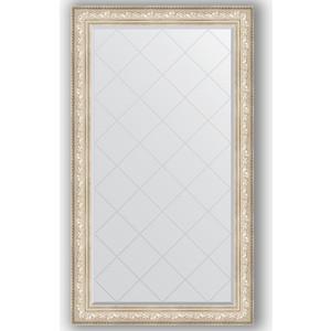 Зеркало с гравировкой поворотное Evoform Exclusive-G 100x175 см, в багетной раме - виньетка серебро 109 мм (BY 4426) зеркало с фацетом в багетной раме поворотное evoform exclusive 80x170 см виньетка серебро 109 мм by 3608