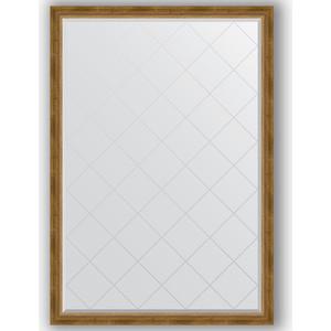 Фото - Зеркало с гравировкой поворотное Evoform Exclusive-G 128x183 см, в багетной раме - состаренная бронза с плетением 70 мм (BY 4477) зеркало с гравировкой поворотное evoform exclusive g 93x168 см в багетной раме состаренная бронза с плетением 70 мм by 4391