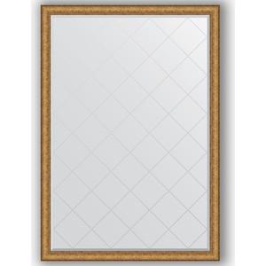 Зеркало с гравировкой поворотное Evoform Exclusive-G 129x183 см, в багетной раме - медный эльдорадо 73 мм (BY 4481) зеркало напольное с гравировкой поворотное evoform exclusive g floor 79x198 см в багетной раме медный эльдорадо 73 мм by 6306