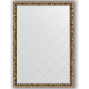 Зеркало с гравировкой поворотное Evoform Exclusive-G 131x185 см, в багетной раме - фреска 84 мм (BY 4485) зеркало с гравировкой поворотное evoform exclusive g 96x121 см в багетной раме фреска 84 мм by 4356