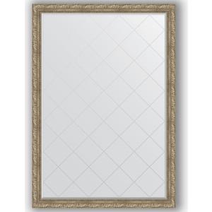 Зеркало с гравировкой поворотное Evoform Exclusive-G 130x185 см, в багетной раме - виньетка античное серебро 85 мм (BY 4487) зеркало с гравировкой поворотное evoform exclusive g 95x120 см в багетной раме виньетка античное серебро 85 мм by 4358