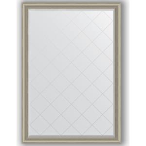 Зеркало с гравировкой поворотное Evoform Exclusive-G 131x186 см, в багетной раме - хамелеон 88 мм (BY 4493) фото