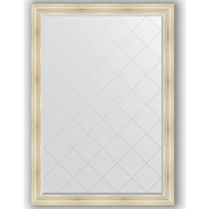 Зеркало с гравировкой поворотное Evoform Exclusive-G 134x189 см, в багетной раме - травленое серебро 99 мм (BY 4504) зеркало с гравировкой поворотное evoform exclusive g 134x189 см в багетной раме травленое золото 99 мм by 4503