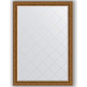 Зеркало с гравировкой поворотное Evoform Exclusive-G 134x189 см, в багетной раме - травленая бронза 99 мм (BY 4505) зеркало с гравировкой поворотное evoform exclusive g 69x91 см в багетной раме травленая бронза 99 мм by 4118