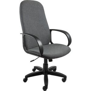 Кресло Алвест AV 108 PL (727) MK ткань 415 серая с черной ниткой