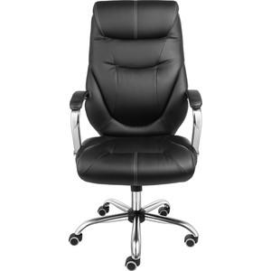 Кресло Алвест AV 116 СН (04) СХ эко кожа 223 черная кресло алвест av 105 pl 727 мк эко кожа 202 слон кость